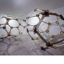 Fragile Continent. 2013 Samba, Caucciù. 650x250x250 cm