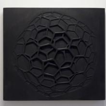Grafene, 2012 - Legno di samba, Patina. 25x35x6 cm